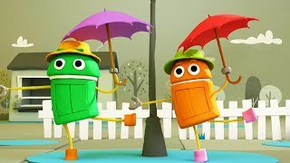 StoryBots | Rain, Rain Go Away - Classic Nursery Rhymes for Toddlers and Kids