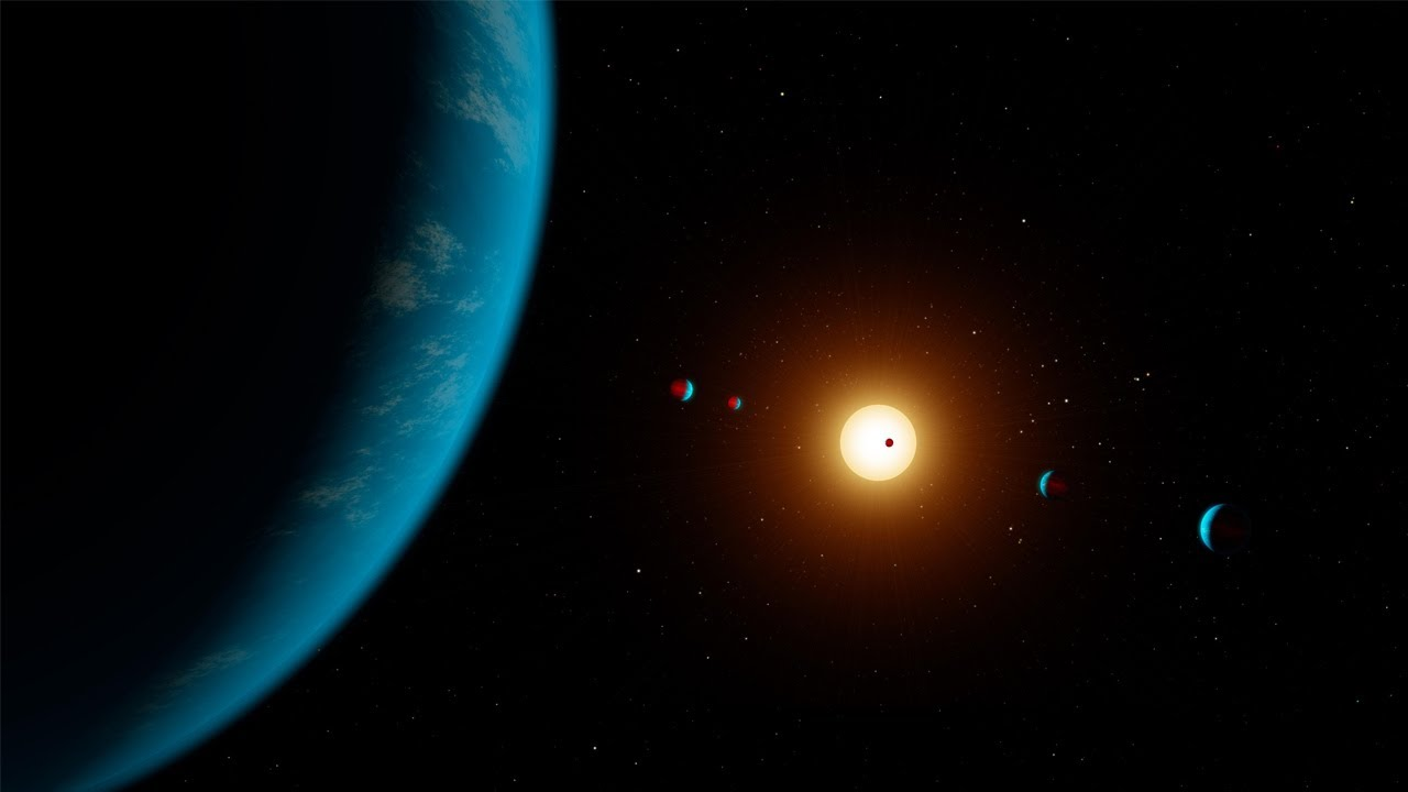 Six planet system found in almost perfect orbital harmony