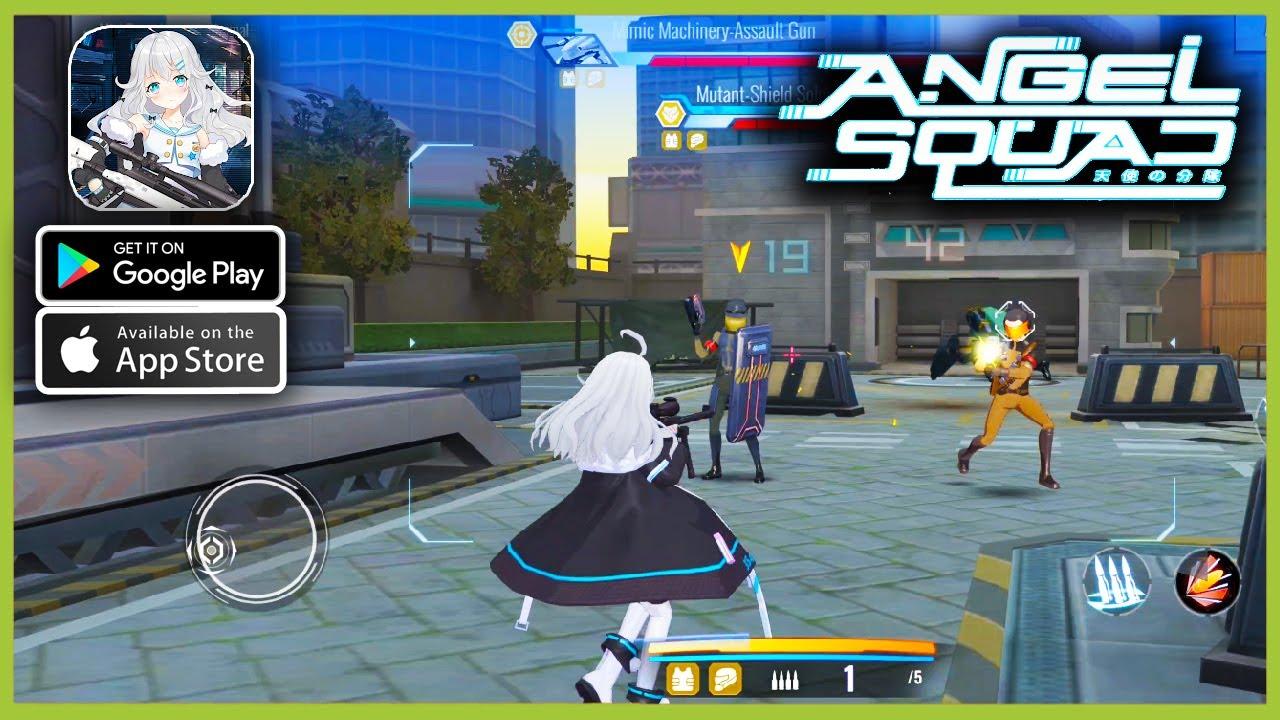 Bertema Anime, Game Angel Squad Bisa Kamu Download di iOS dan Android