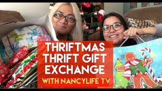 THRIFTMAS GIFT EXCHANGE WE THRIFTED ALL OUR PRESENTS