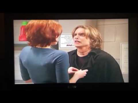 Rachel Maitland Ward pretends to seduce Eric in Boy Meets World in Laundry Room