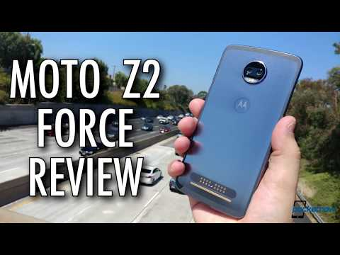 "Moto Z2 Force Review: The ""Incomplete"" Flagship Smartphone? 