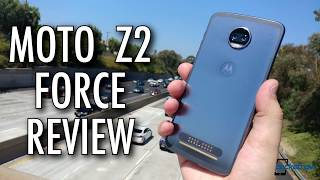 Moto Z2 Force Review  The  Incomplete  Flagship Smartphone?