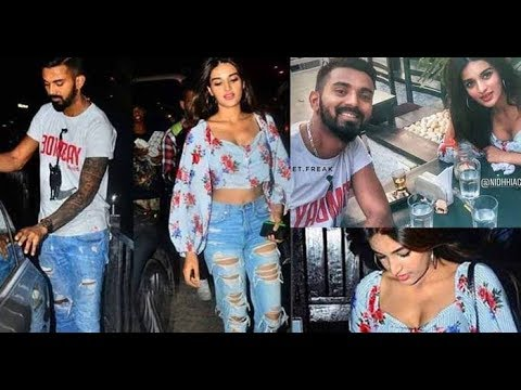Image result for latest images of nidhi agarwal with KL rahul