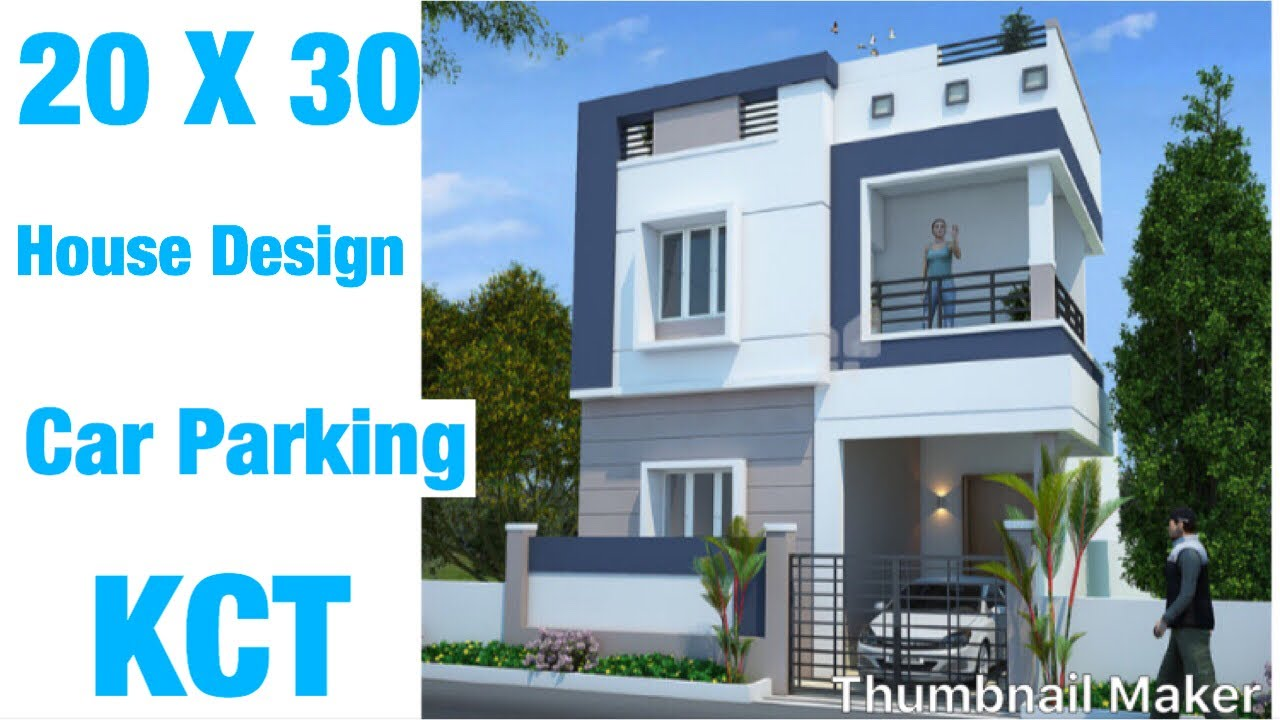 20 X 30 House Design Plan Map 1bhk Car Parking 66 Gaj Ghar Ka Naksha 3d Interior Design