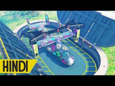 My TANK Garage in GTA 5 ONLINE - HINDI/URDU