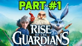 Rise of the Guardians: The Video Game Walkthrough Part 1 (PS3)