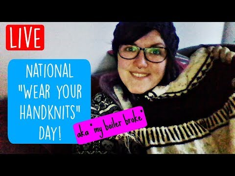 LIVE Let's Knit, Chat and Drink Tea! ¦ The Corner of Craft