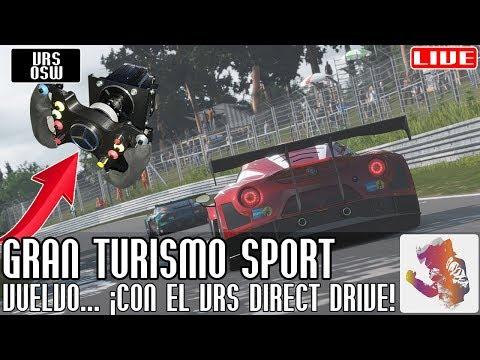 Vuelvo a Gran Turismo Sport... carreras online, ¡con el VRS Direct Force Pro (OSW)! || LIVE thumbnail