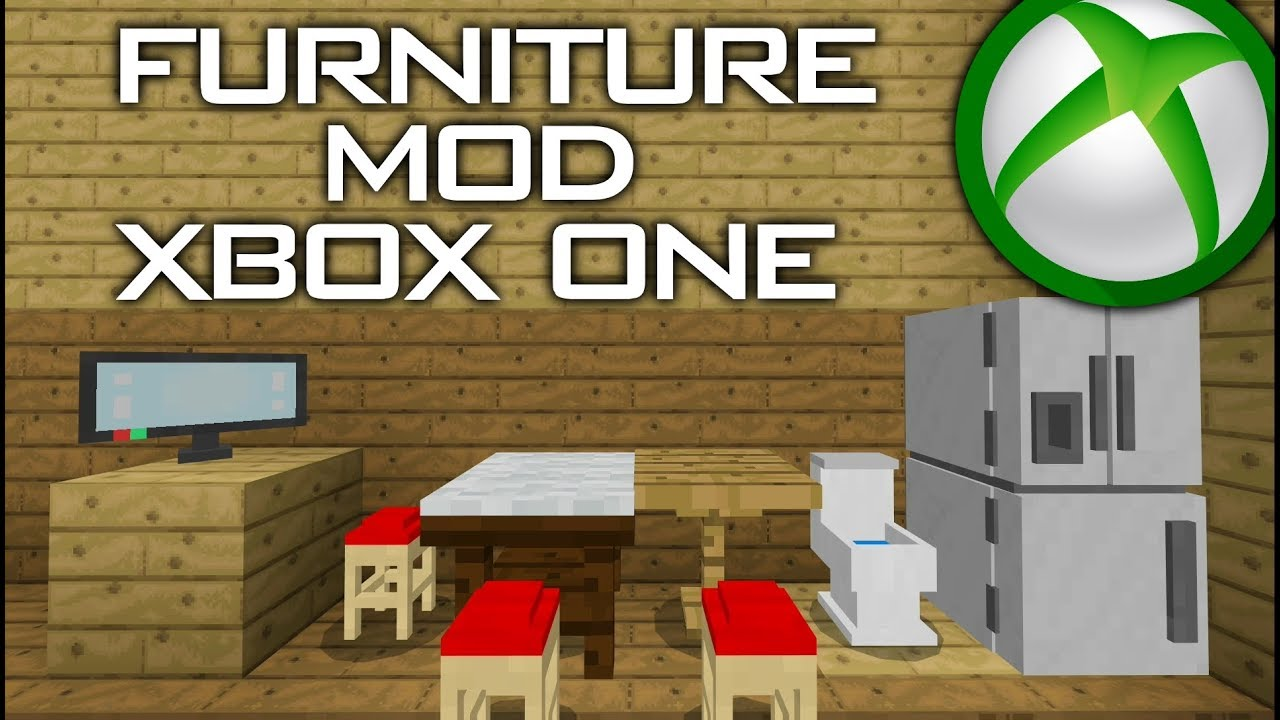 How to download Furniture Mod on Minecraft XboxOne (Tutorial)