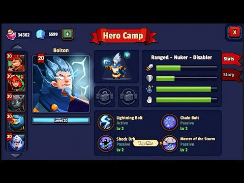 Realm Defense new update + Bolton ability level 2