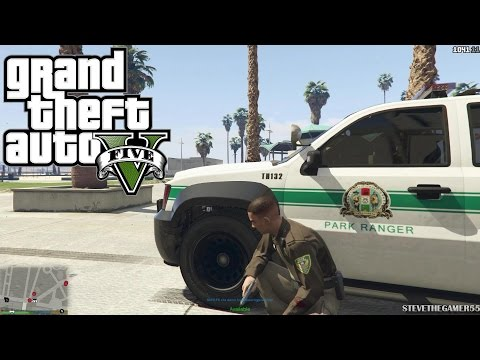 GTA 5 PC Mods - PLAY AS A COP MOD! GTA 5 SAPDFR/LSPDFR POLICE MOD