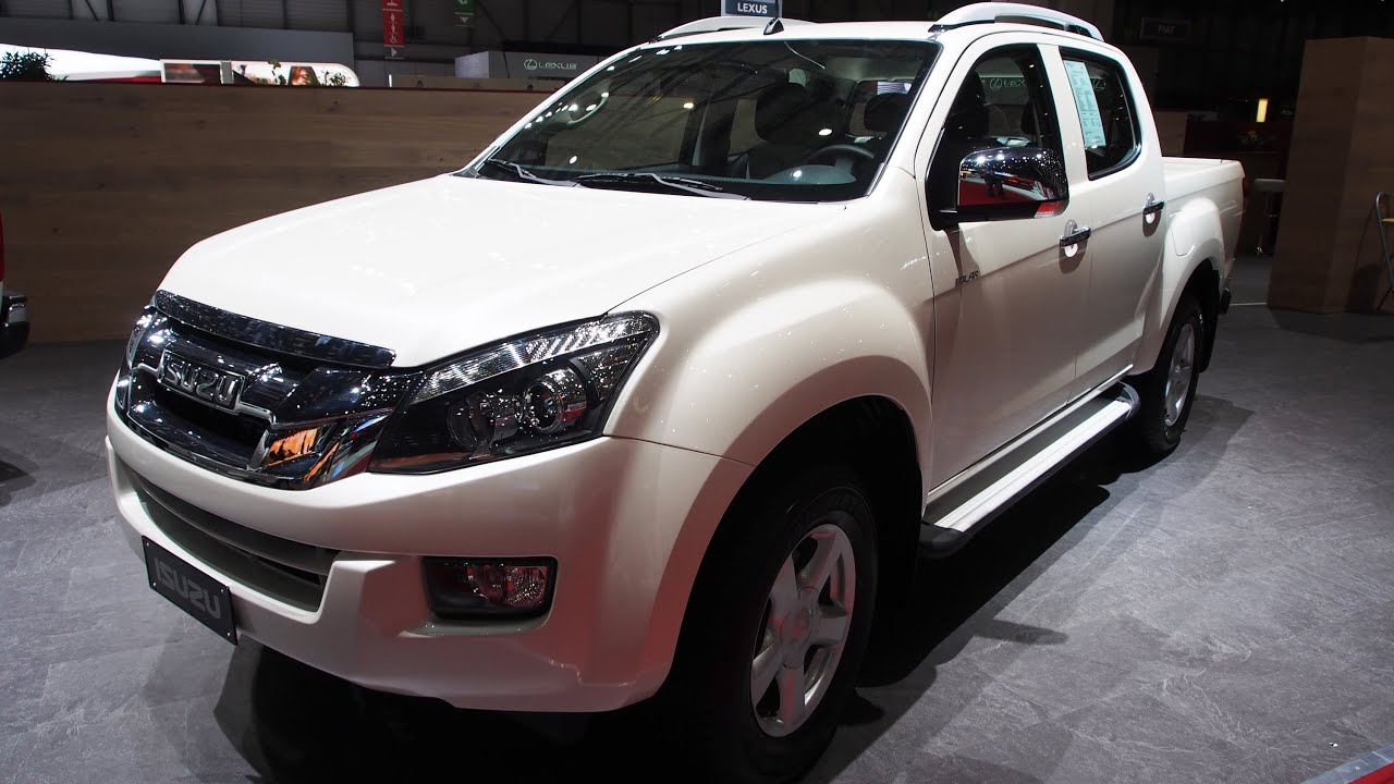 2014 isuzu d max double cab 2 5 td twin turbo 4x4 at exterior and interior walkaround youtube. Black Bedroom Furniture Sets. Home Design Ideas