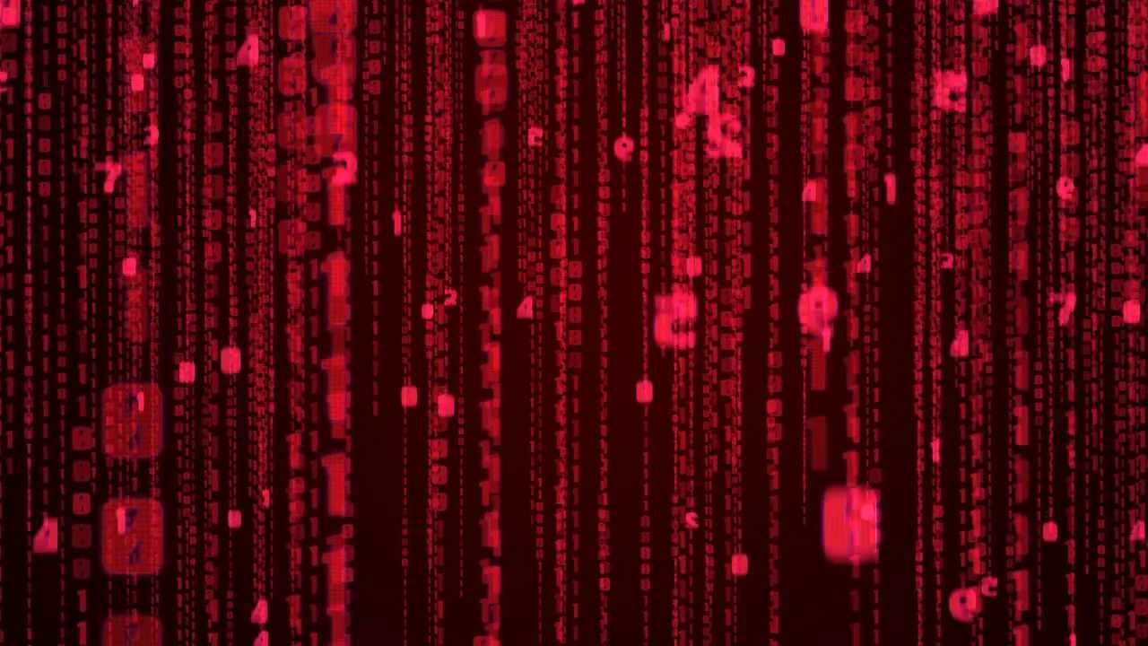 Matrix Falling Code Wallpaper After Effects Matrix Effect In Red Youtube