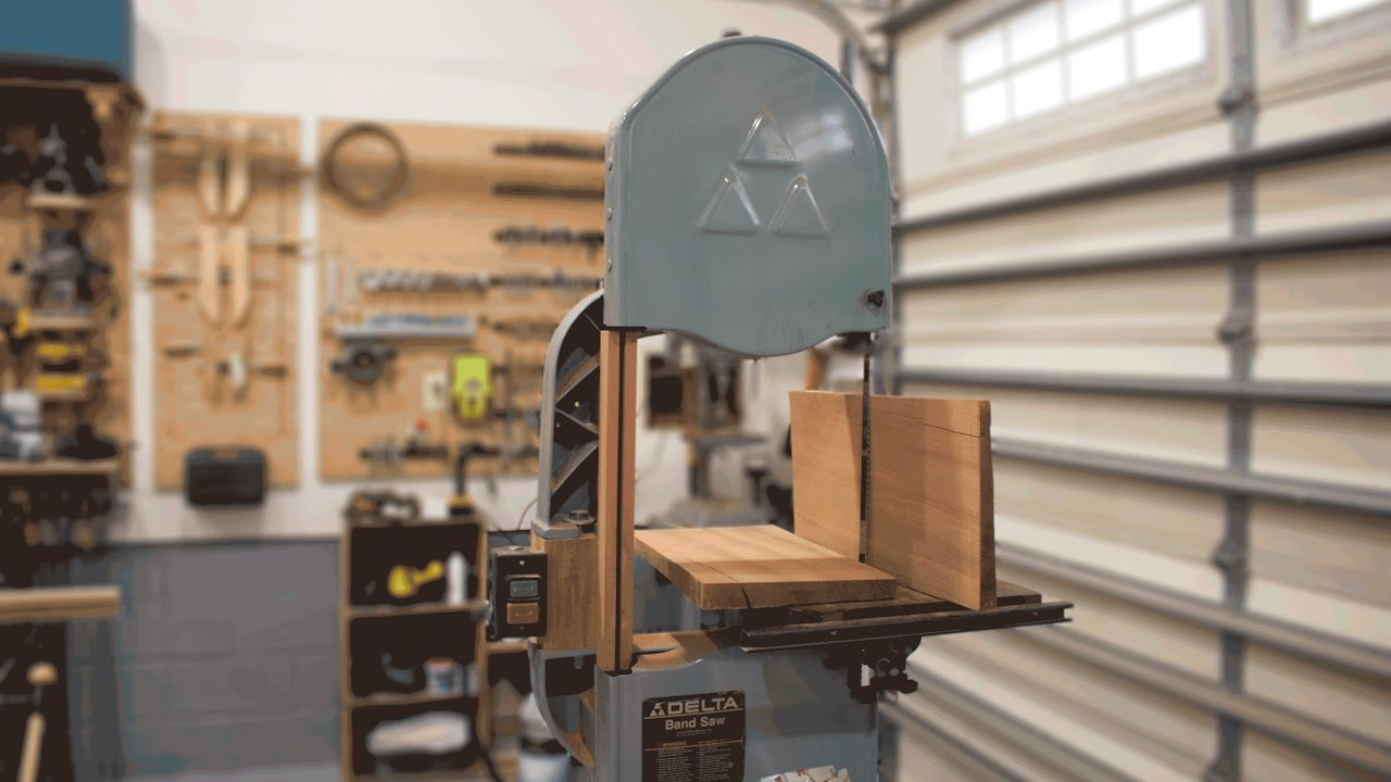 Does A Wooden Bandsaw Riser Block Work? Increased Resaw Height