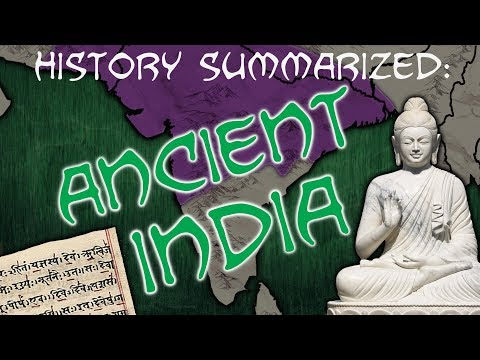 History Summarized: Ancient India