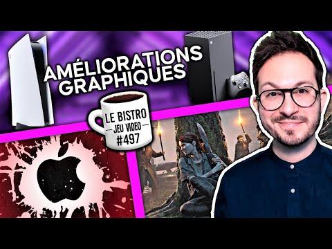 PS5 et Xbox Series améliorées 🚀 Last of Us 2 record HISTORIQUE, Apple danger, PlayStation HOME VR