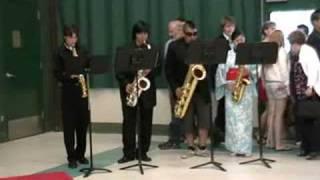Sax Quartet - Cowboy Bebop