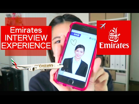 不專業阿聯酋空服員面試分享 Emirates Cabin Crew interview Experience | Sharpaygaga