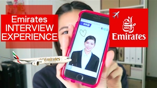 不專業阿聯酋空服員面試分享 Emirates Cabin Crew interview Experience | Sharpaygaga
