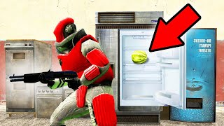 HE WILL NEVER FIND ME HERE! (Gmod Prop Hunt)