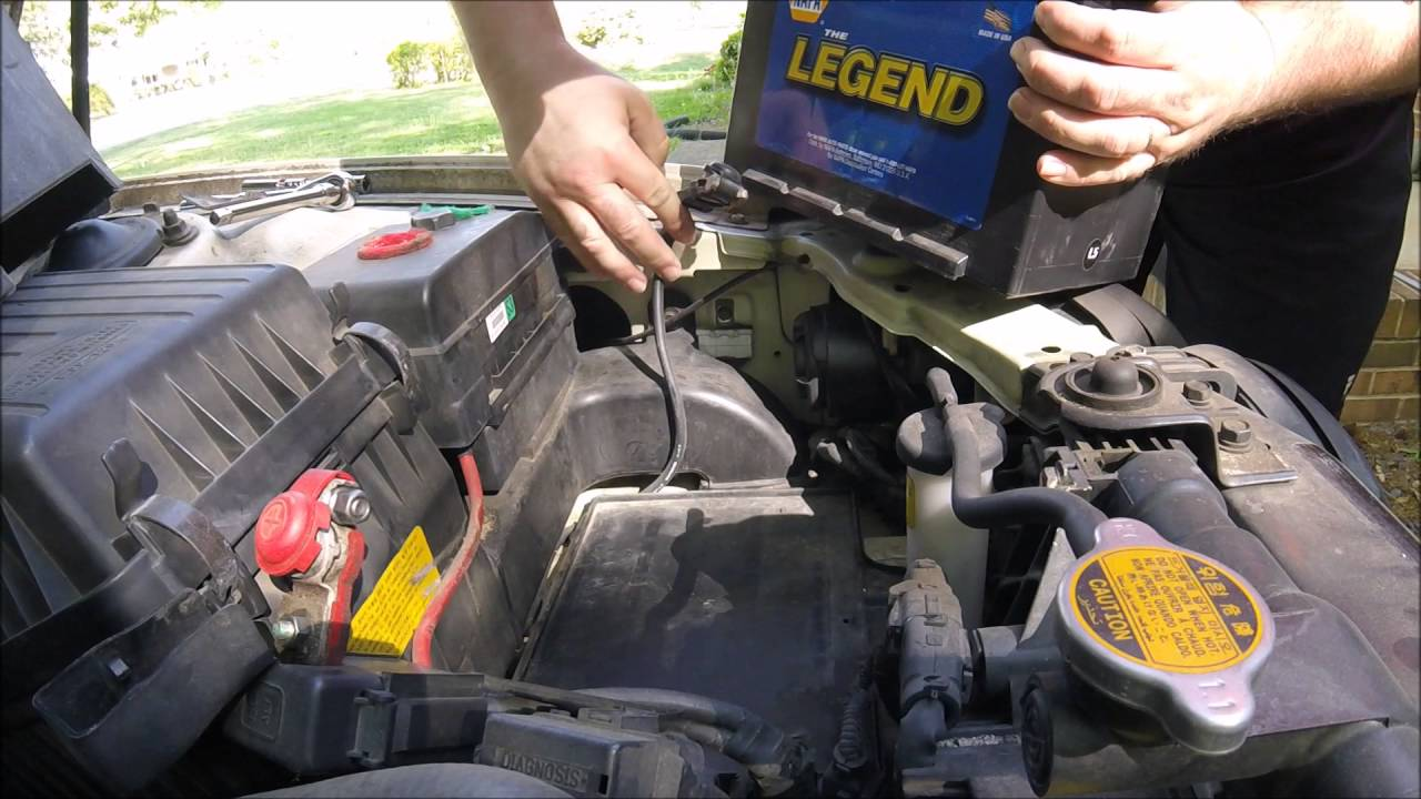 Kia Optima: Battery