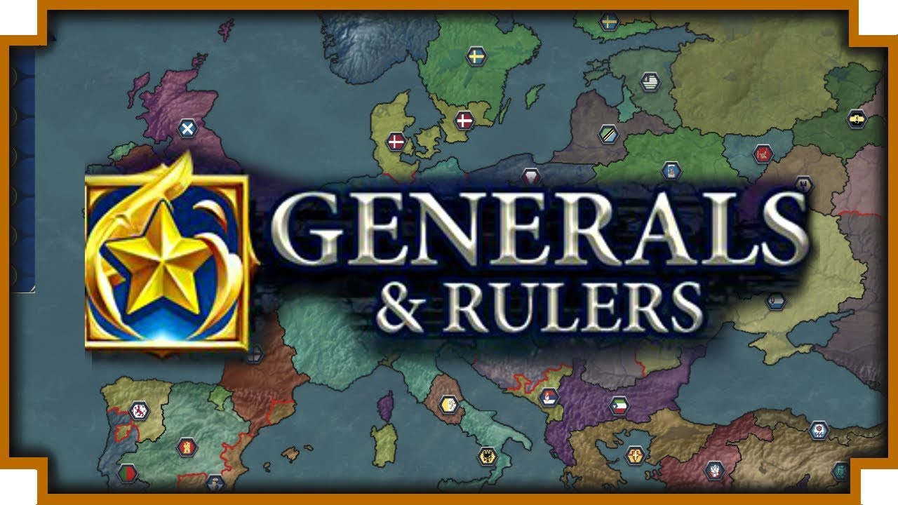 Generals & Rulers – (Turn-Based Medieval Strategy Game)