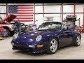 1996 Porsche 993 Cabriolet