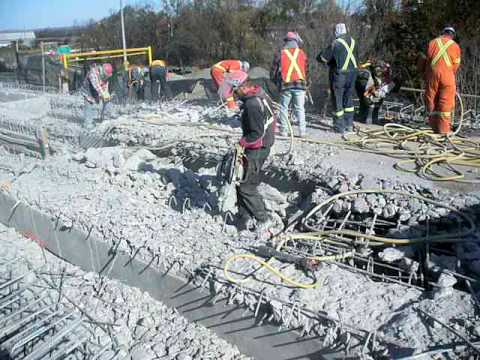 Demolition AC Construction concrete breaker 5