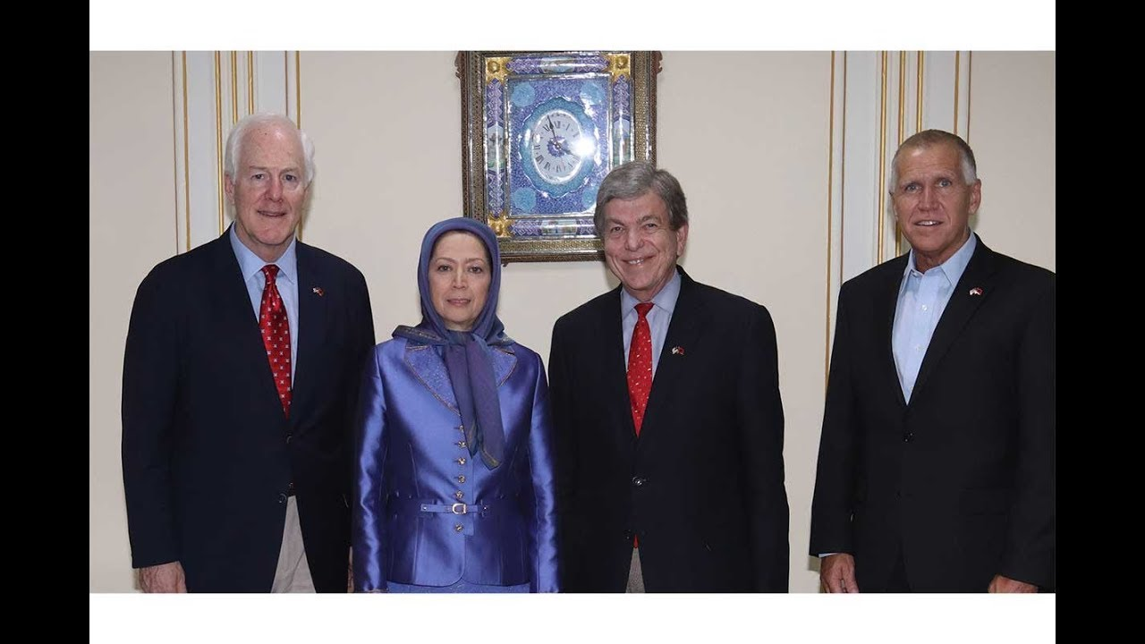 Senior U.S. Senate Delegation, Maryam Rajavi meet in Tirana, the Albanian Capital