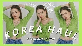 Korean Fashion Haul | What I got in Korea