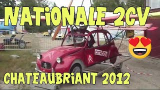Concentration Nationale 2CV 2012 à Chateaubriant