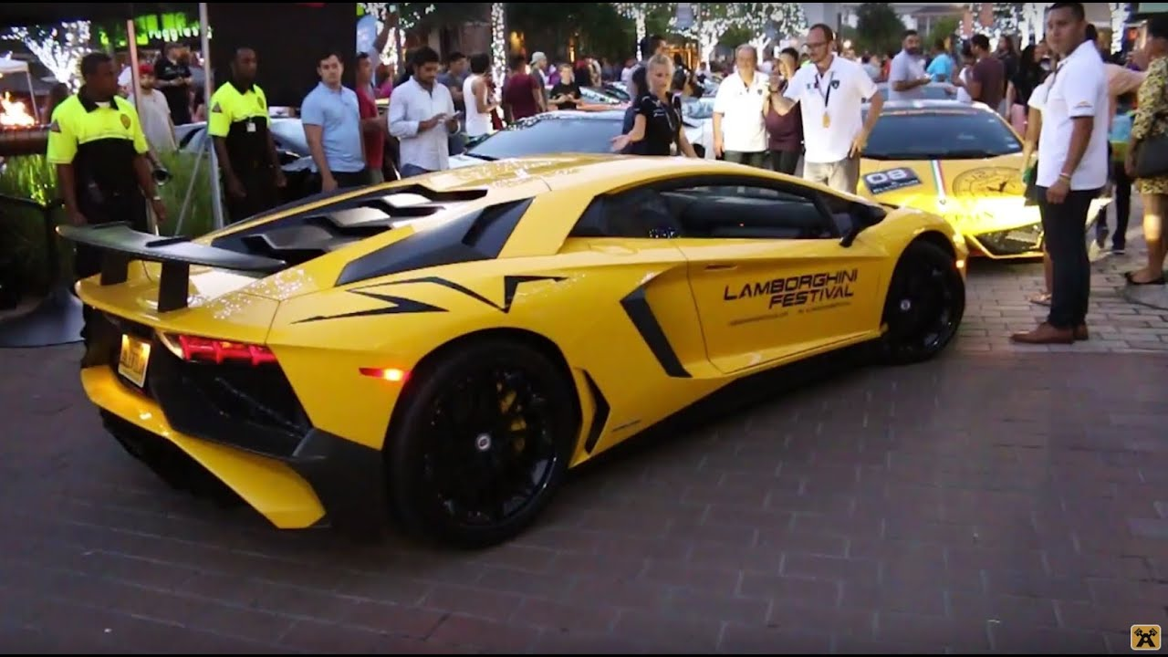 Lamborghini Festival 2015 Supercars Hypercars And Interviews
