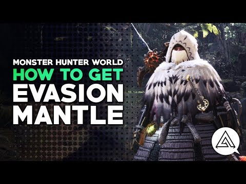 Monster Hunter World | How to Get the Evasion Mantle