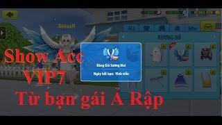 Mượn acc VIP7 girl Ả Rập Xê Út [Avatar musik]