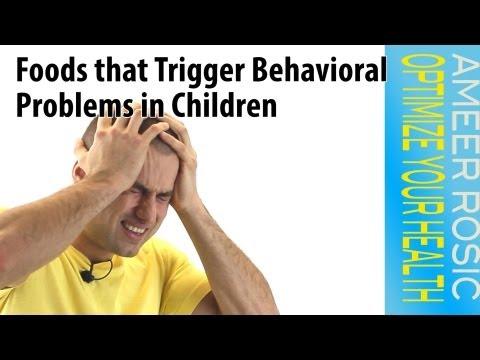 Foods that Trigger Behavioral Problems in Children
