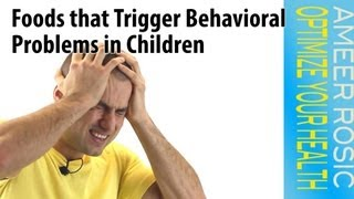 Foods that Trigger Behavioral Problems in Children