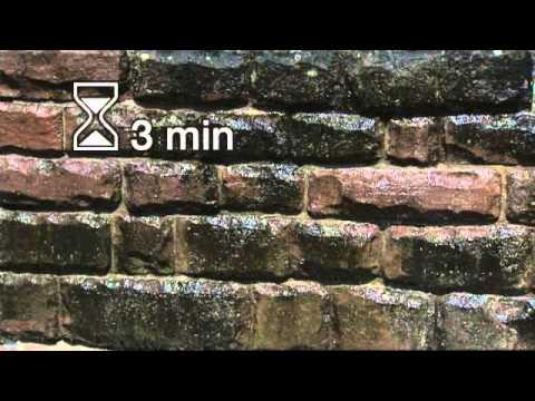 Karcheronline limpieza de muros y paredes con suciedad o - Limpieza de moho en paredes ...
