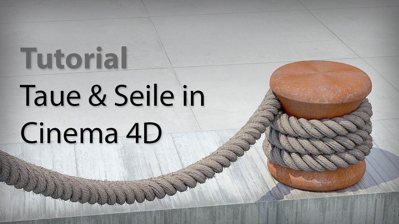 tutorial taue und seile in cinema 4d bauen rope generator plugin reeper for cinema 4d en. Black Bedroom Furniture Sets. Home Design Ideas