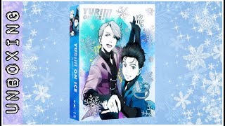 Yuri on Ice!! Limited Edition Blu-Ray Special History Maker Unboxing Video Funimation ユーリ!!! on ICE