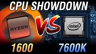 Ryzen 5 1600 Vs I5 7600K Showdown Price To Price Comparison