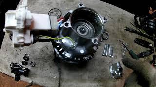 Karcher K 3.98 ремонт после ''колхозников''...