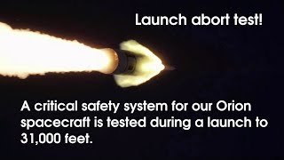 Launch of Orion Spacecraft Ascent Abort-2 Test