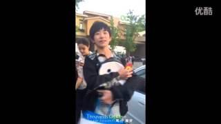 [FANCAM] TFBOYS DỊch DƯơng Thiên Tỉ nói chuyện với Fans @万千宠爱_千玺个站