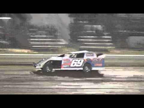 Ark La Tex Speedway limited modified heat 3 part 1 fan night 4/23/16