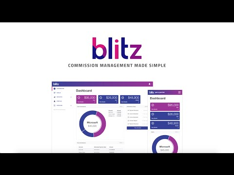 Blitz: the best sales commission tracking software