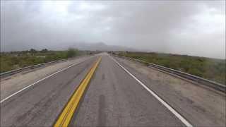 Visitando Argentina (54) - The Clash - Catamarca - Honda CG 150 - Go Pro - Ruta Nacional 40