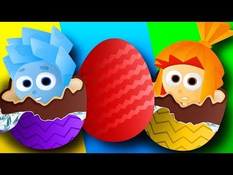 Сборник видео для детей. Лопаем шарики и открываем ЯЙЦА СЮРПРИЗ с игрушки Щенячий Патруль