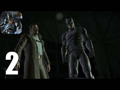 Batman : The Enemy Within ( IOS / Androi ) Gameplay #2 - Episode 1 : The Enigma