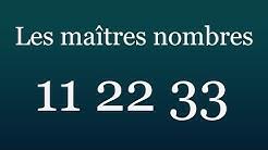 Les nombres maîtres 11, 22 et 33...par numérologue conseils #numerologie